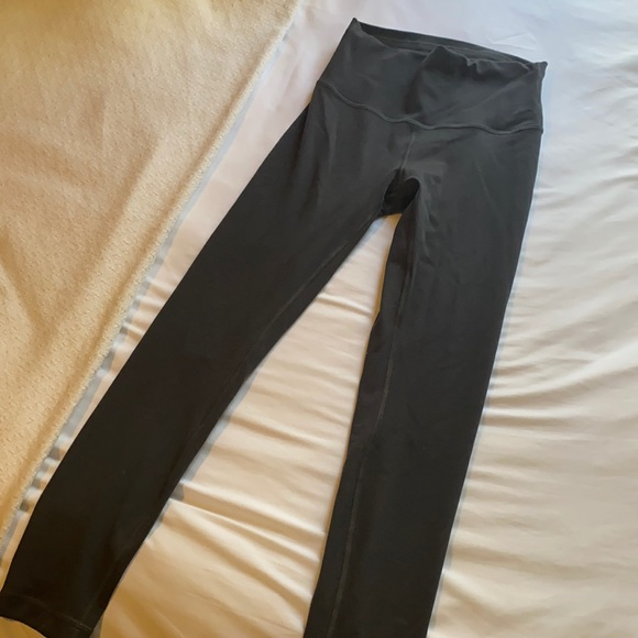 """Wunder train tights 25"""" size 6"""